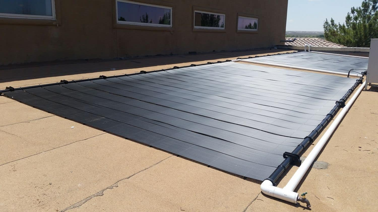 Solar energy panels power systems el paso lubbock tx for Marty robbins swimming pool el paso