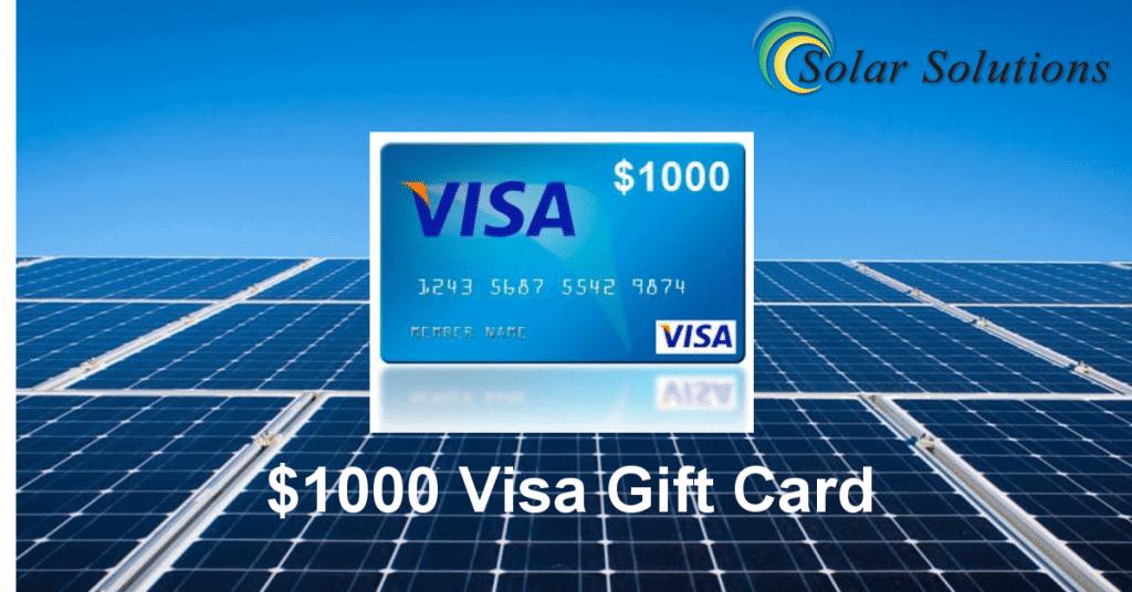 Visa Gift Card FB Ad
