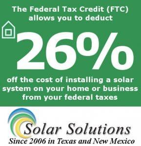 26 Federal Tax Credit Solar Panels In El Paso