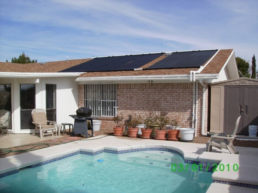 Texas Solar Pool Heating Systems