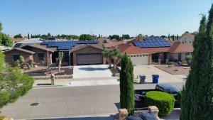 solar panels el paso
